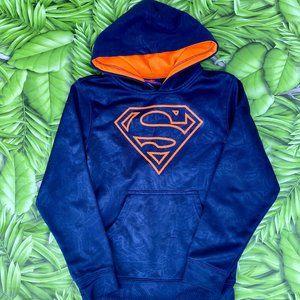 Boys Superman Blue Hoodie